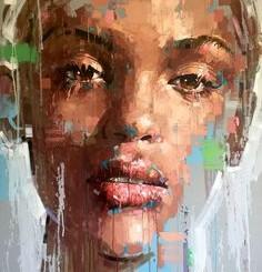 Абстрактные картины в интерьере