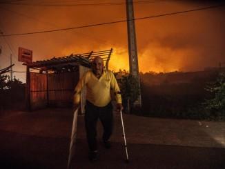 В Португалии пожарники смогли взять под полный контроль лесные пожары
