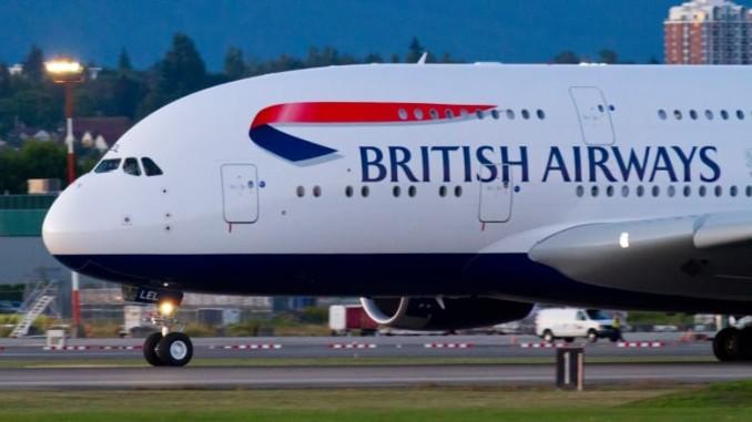 Экстренную посадку в аэропорту Валенсии совершил самолет авиакомпании «British Airways»